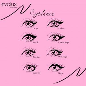EVOLUX-EYELINERS